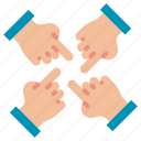 participation, partnership, solidarity, teamwork icon