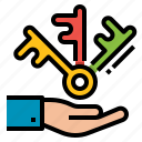 business, puzzle, solution, team icon