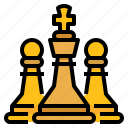 chess, management, planning, strategy icon
