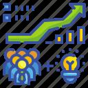 bars, business, earnings, graph, money, profits, statistics icon