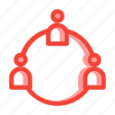 networking, organization icon, relation, teamwork, teamwork icon icon