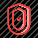 assurance, organization icon, shield, teamwork icon icon