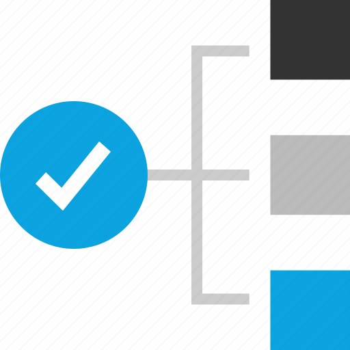 approved, check mark, plan, strategy icon