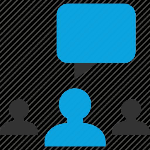 bubble, chat, talk, talking icon
