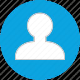 man, people, single, user icon