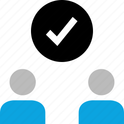 approve, check mark, ok, team icon