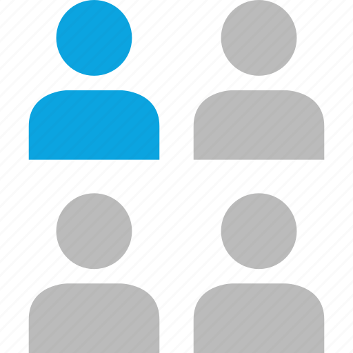 data, online, people, user icon