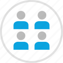 group, team, team environment, teamwork icon