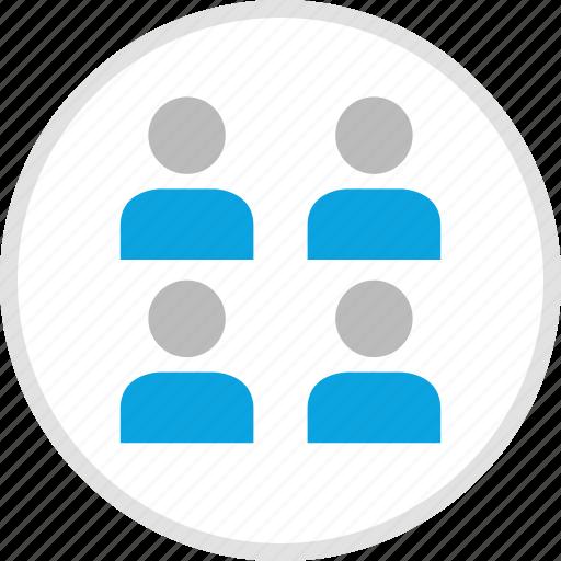 group, team, team environment, teamwork icon
