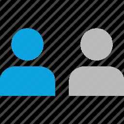 ab testing, group, people, team icon