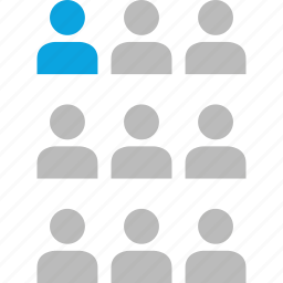 group, lead, people, team icon