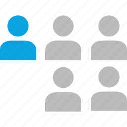 leader, network, people, users icon