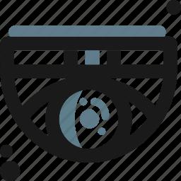 camera, eye, guard, protection, security, tech, vision icon