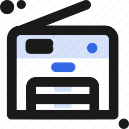 copy, machine, printer icon