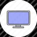 computer, desktop, monitor, screen