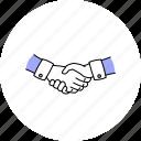 business, hands, handshake, shaking