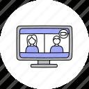 call, communication, video, webcam