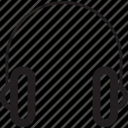 audio, headphone, headphones, microphone, multimedia, music, sound icon