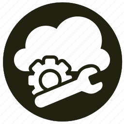 cloud, cloudy, computing, network, weather icon