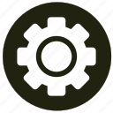 cogwheel, settings, system, tools icon