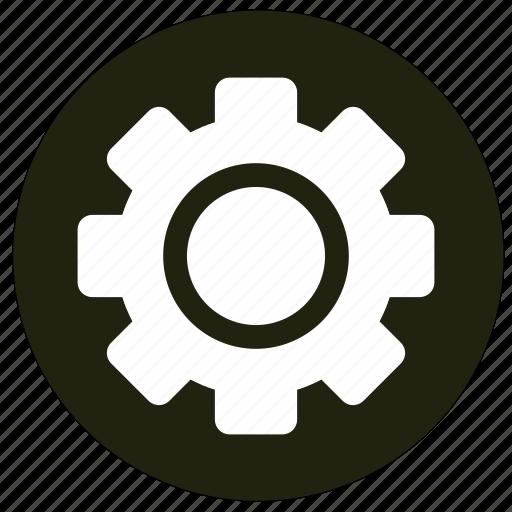 cogwheel, settings, system, tools icon