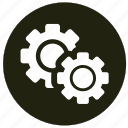 cogwheel, control, options, settings icon