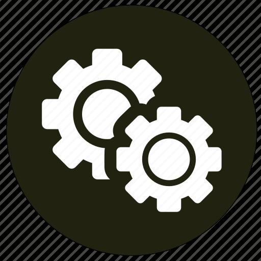 cogwheel, control, options, settings icon