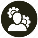 cogwheel, configuration, system icon