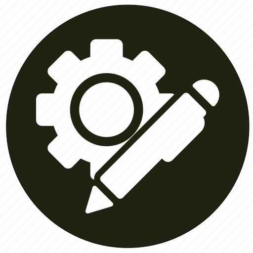 configuration, gear, repair, setting icon