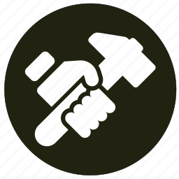 equipment, hammer, hardware, tool icon