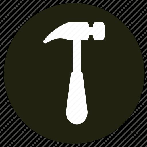 equipment, hammer, repair, tools icon