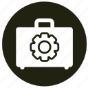 business, ecommerce, finance, kit, suitcase icon