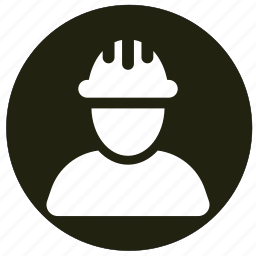 engineer, people, profile, user, worker icon