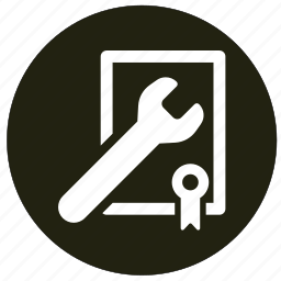 configuration, equipment, repair, settings, wrench icon