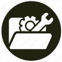 equipment, repair, setting, tools, wrench icon