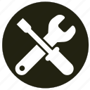 equipment, repair, tool, wrenches icon