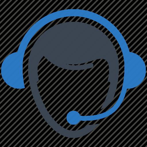 call center, consultant, support, technician icon