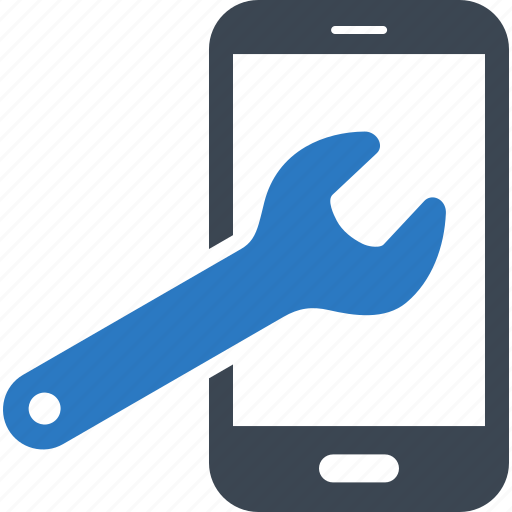 maintenance, technical support, wrench icon