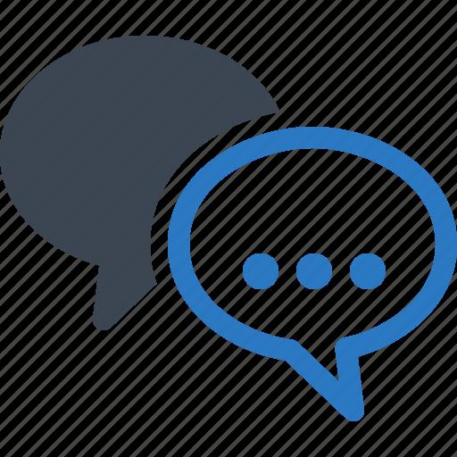 chat, comment, speech bubbles, talk icon