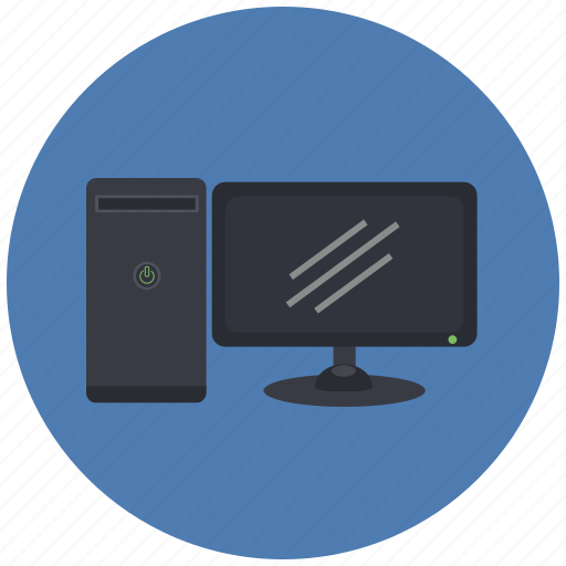 computer, hardware, monitor, pc, screen, technology icon
