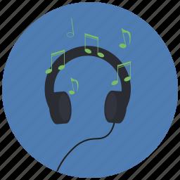audio, listener, music, songs icon