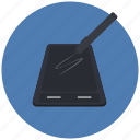 graphic, tablet, technology icon