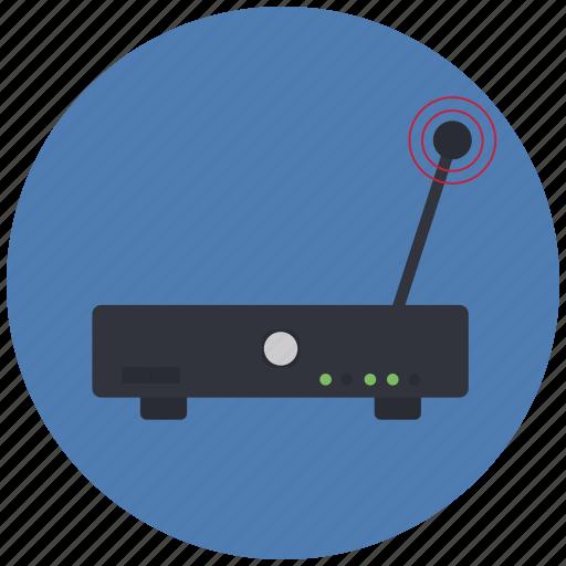 communication, modem, network, wifi, wireless icon