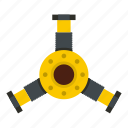 auto, automotive, car, engine, mechanical, motor, round mechanic detail icon
