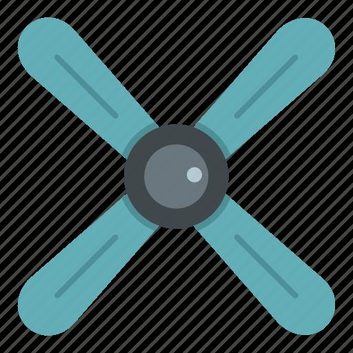 chrome, gray, metallic, perspective, propeller, rotate, rotation icon