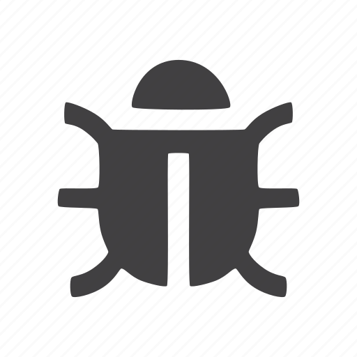 bug, virus icon