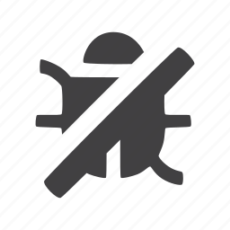 antivirus, debug icon