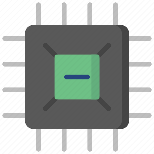 chip, computer, device, gadget, motherboard, pc, technology icon