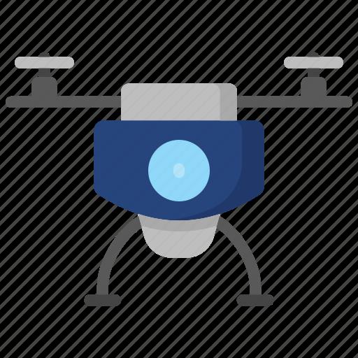 camera, device, drone, electronics, technology, video icon