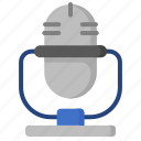 audio, device, gadget, microphone, music, sound, technology icon